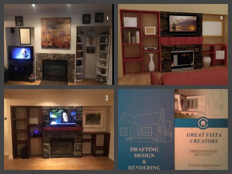 wall unit:   by Great Vista Creators CO.