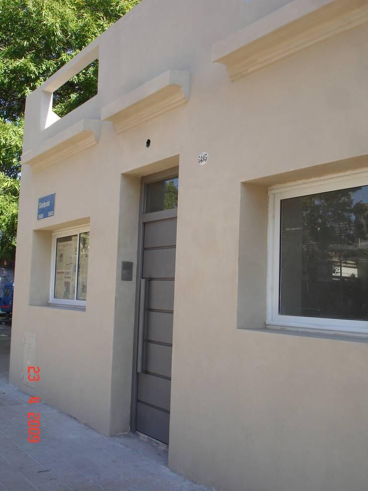 REMODELACION PH EN VILLA DEVOTO: Casas de estilo  por Arquitecta MORIELLO,