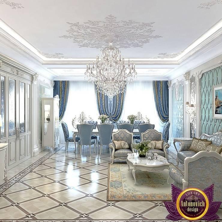 Masterpiece of interior design from Katrina Antonovich:  Living room by Luxury Antonovich Design