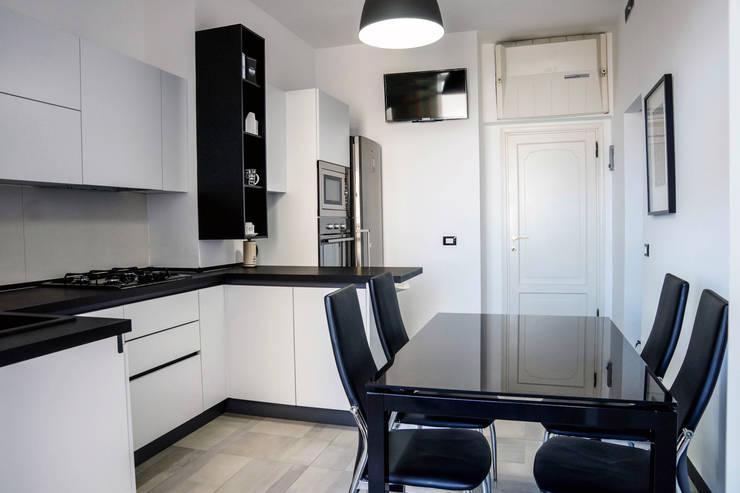 120 m per un appartamento minimal a livorno for Appartamento minimal