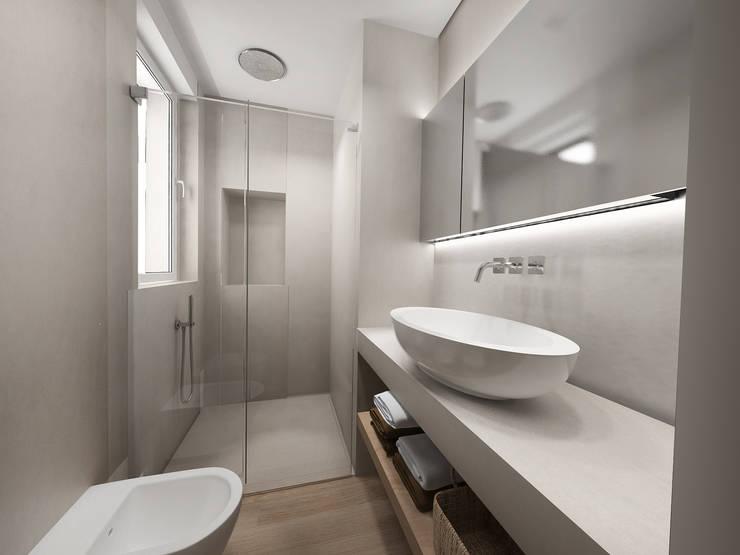 46 bagni piccoli e moderni con doccia for Bagni di design 2016