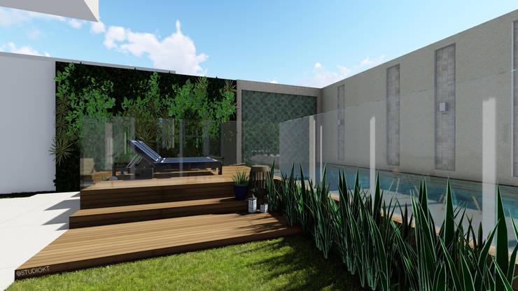 Casas de estilo  por Studio KT arquitetura.design