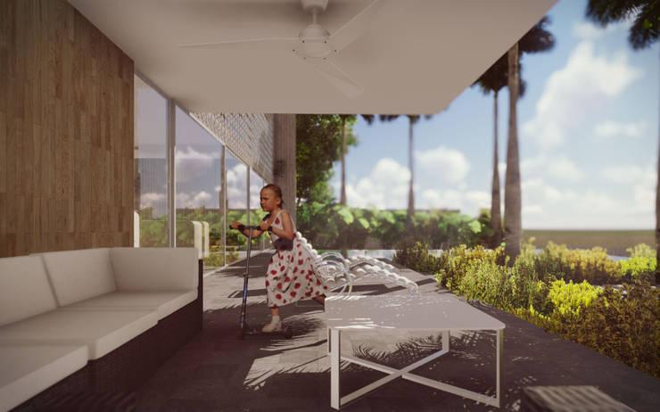 Casona Barlovento.: Casas de estilo  por Pertopia