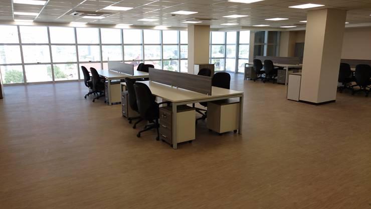 Trabajos Varios en Neuquen: Oficinas y locales comerciales de estilo  por Araucaria Amoblamientos,