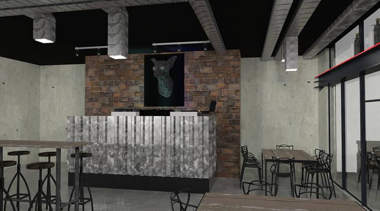 Oficinas y locales comerciales de estilo  por Interiorista Teresa Avila