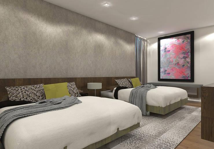 Dormitorios de estilo  por Interiorista Teresa Avila