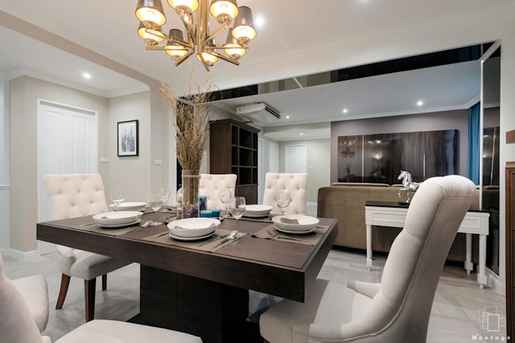 Project Renovate: siam condo:   by Montage Design