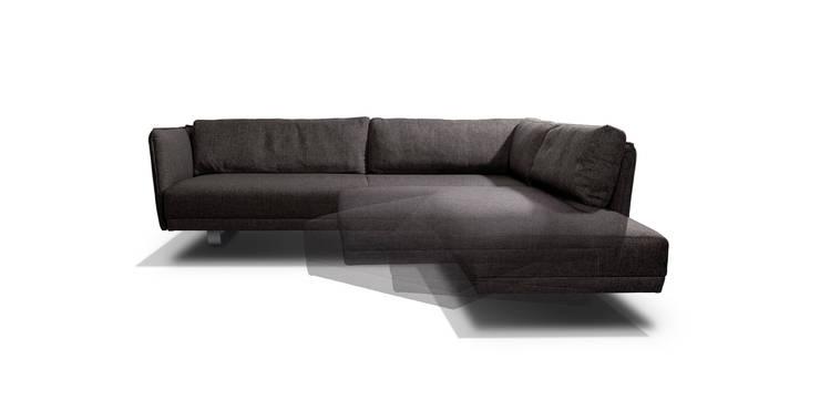 VIC sofa met draai-element:  Woonkamer door MOOME
