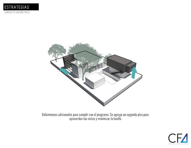 Casa Caracolí:  de estilo  por Contrafuerte