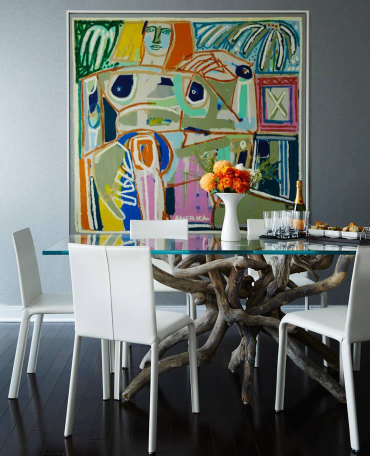 Dining Room: modern Dining room by Douglas Design Studio