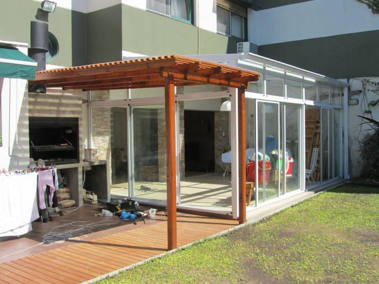 Casas de estilo  por Arquitecta MORIELLO