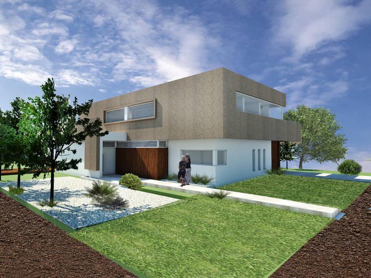 CASA VD: Casas de estilo  por Arquitecta Obadilla,