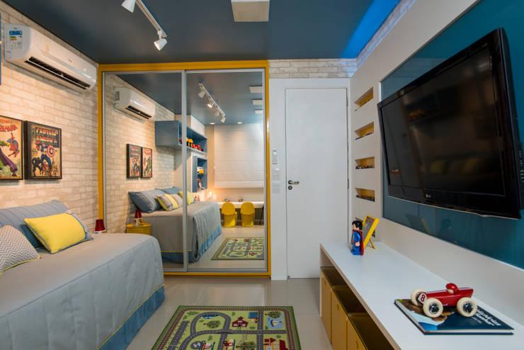 غرفة الاطفال تنفيذ Bee Arquitetura Criativa