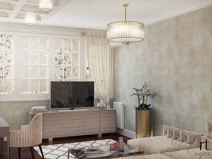 Дизайн интерьера спальни: Спальни в . Автор – Арт-Идея, Минимализм Металл