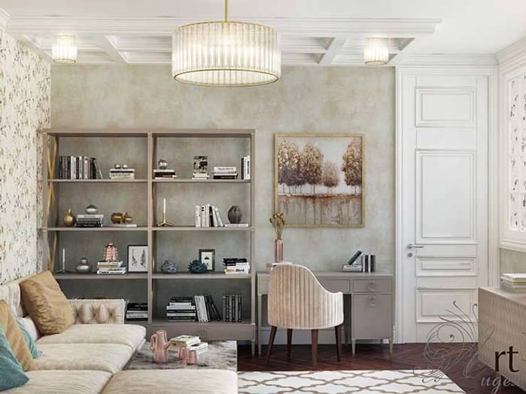 Дизайн интерьера спальни: Спальни в . Автор – Арт-Идея, Минимализм Дерево Эффект древесины