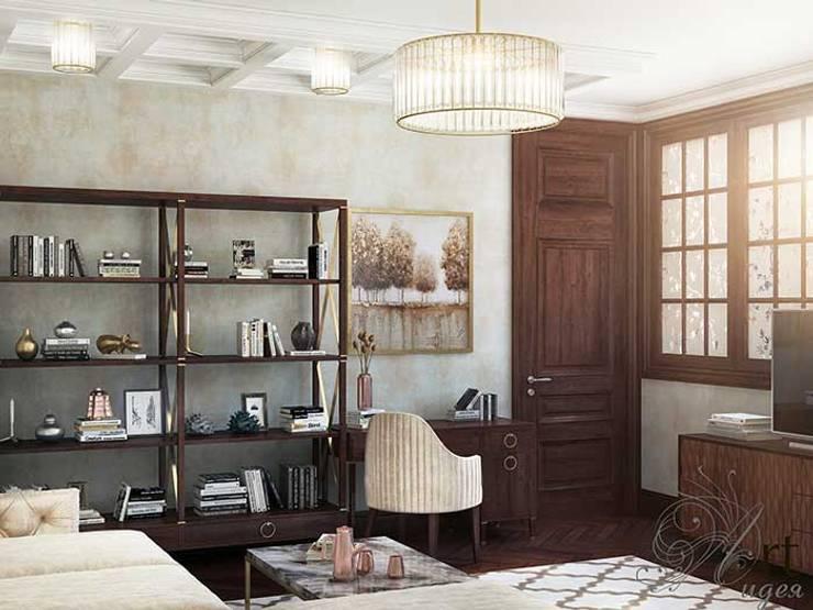 Дизайн интерьера спальни: Спальни в . Автор – Арт-Идея, Минимализм Железобетон