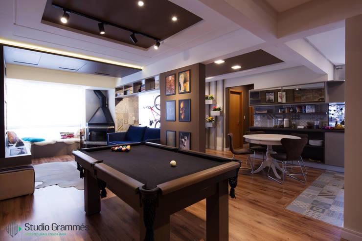 Sala de Estar: Salas de estar  por Studio Grammés • Arquitetura,Moderno