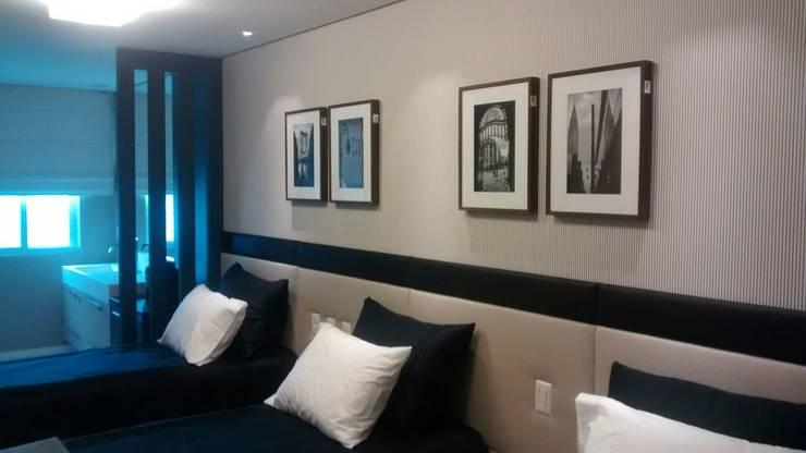 Suite Meninos: Quartos  por Flávia Kloss Arquitetura de Interiores
