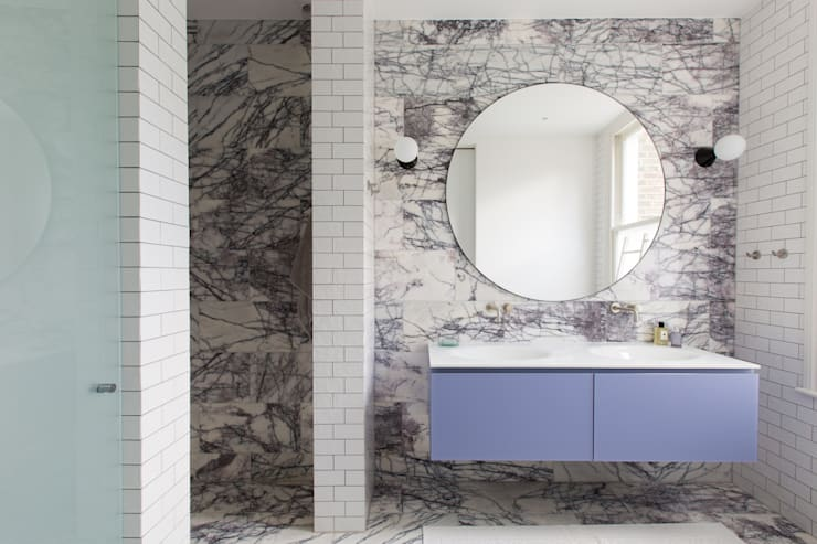 Hall - Brook Green London townhouse:  Bathroom by My-Studio Ltd