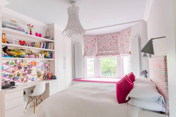 غرفة الأطفال تنفيذ fleur ward interior design