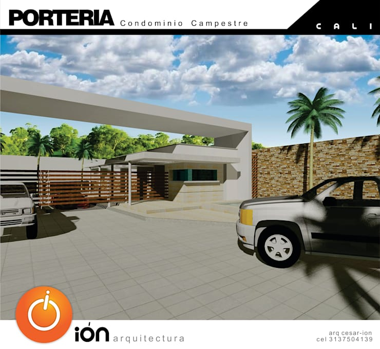 Casas  por ION arquitectura SAS