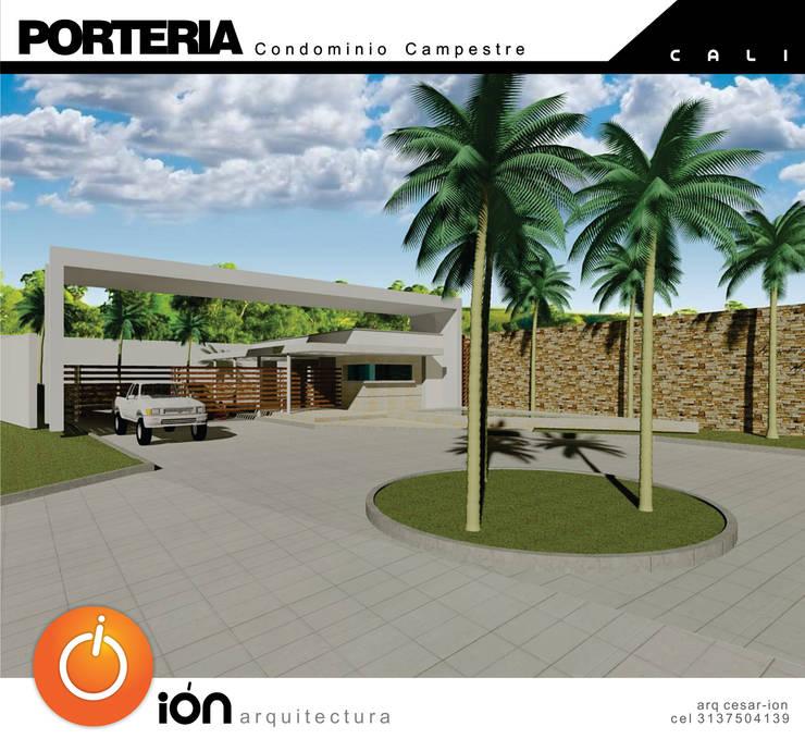 Casas de estilo  por ION arquitectura SAS