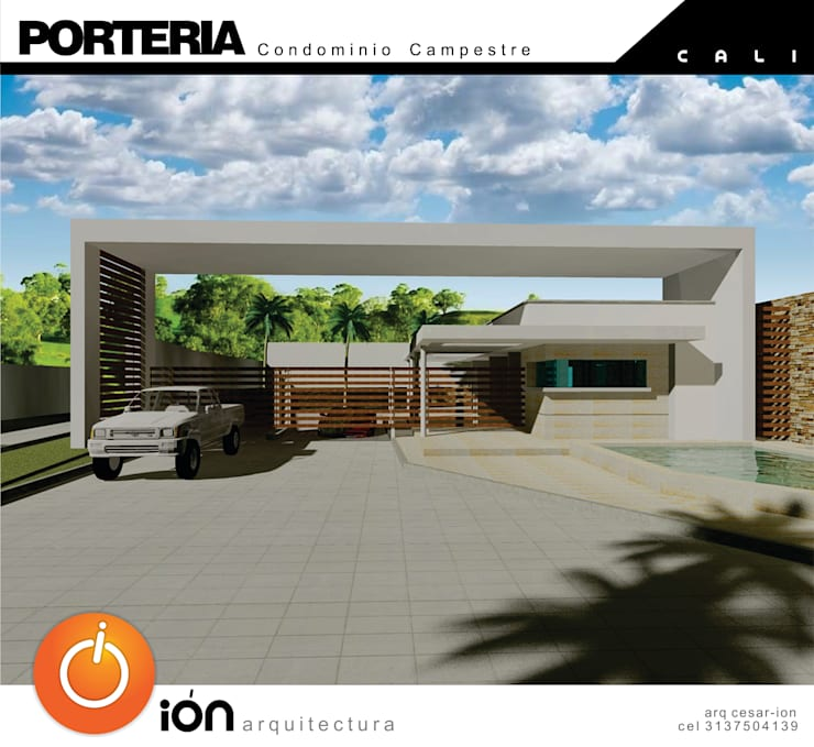 Houses by ION arquitectura SAS