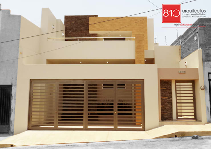 Casa Habitación. de León Martínez : Casas de estilo moderno por 810 Arquitectos