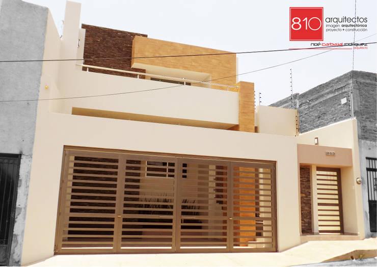 Casas de estilo  por 810 Arquitectos