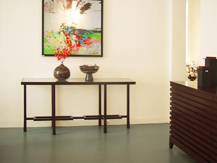 二樓展示間:  餐廳 by 果仁室內裝修設計有限公司