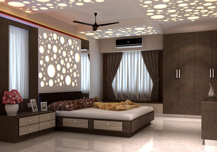 Room 1, View 1:  Bedroom by Ankit Goenka