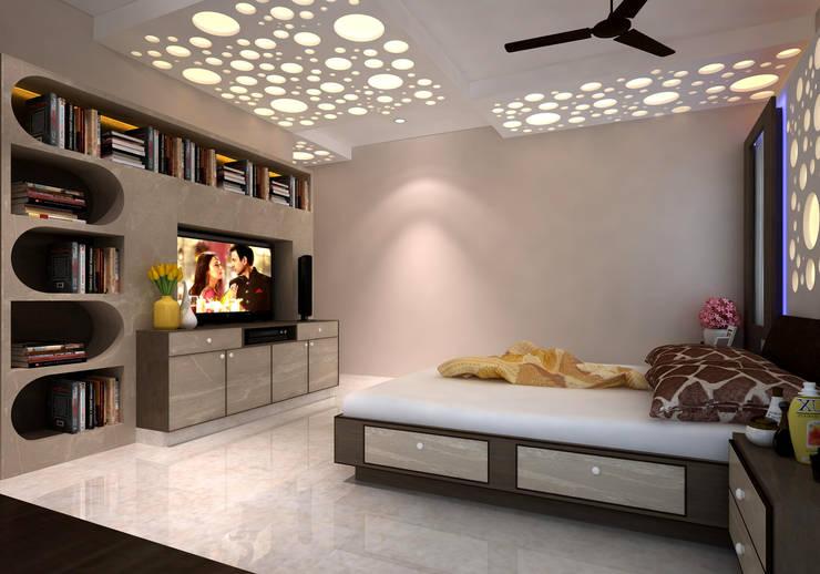 Room 1, View 2b:  Bedroom by Ankit Goenka
