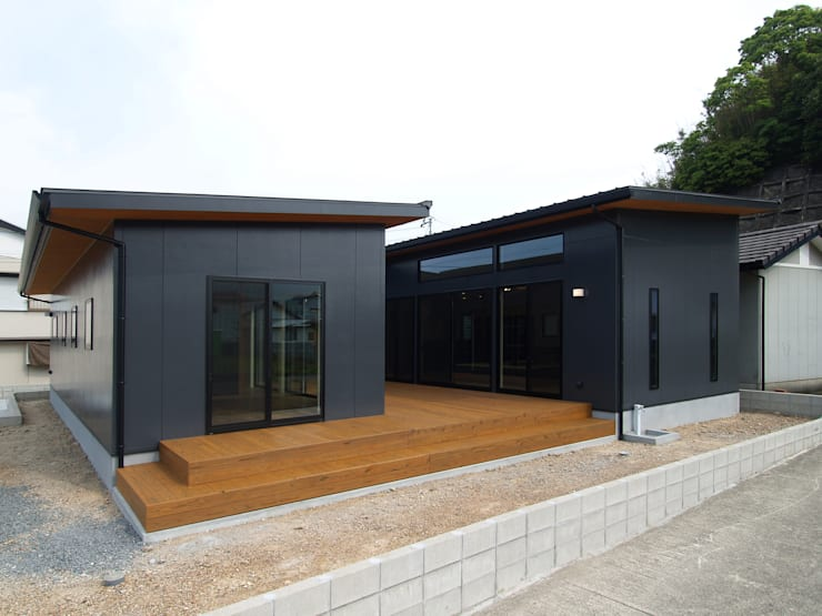 庵川の家: ai建築アトリエが手掛けた家です。