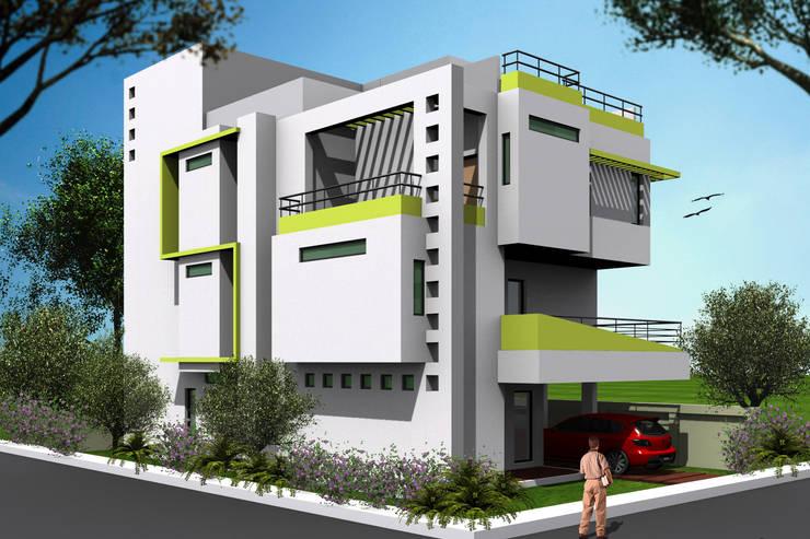 Exterior 3D:   by Ankit Goenka