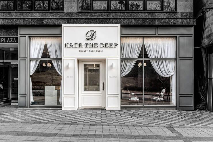 HAIR THE DEEP: 커스텀 디자인 랩의  상업 공간