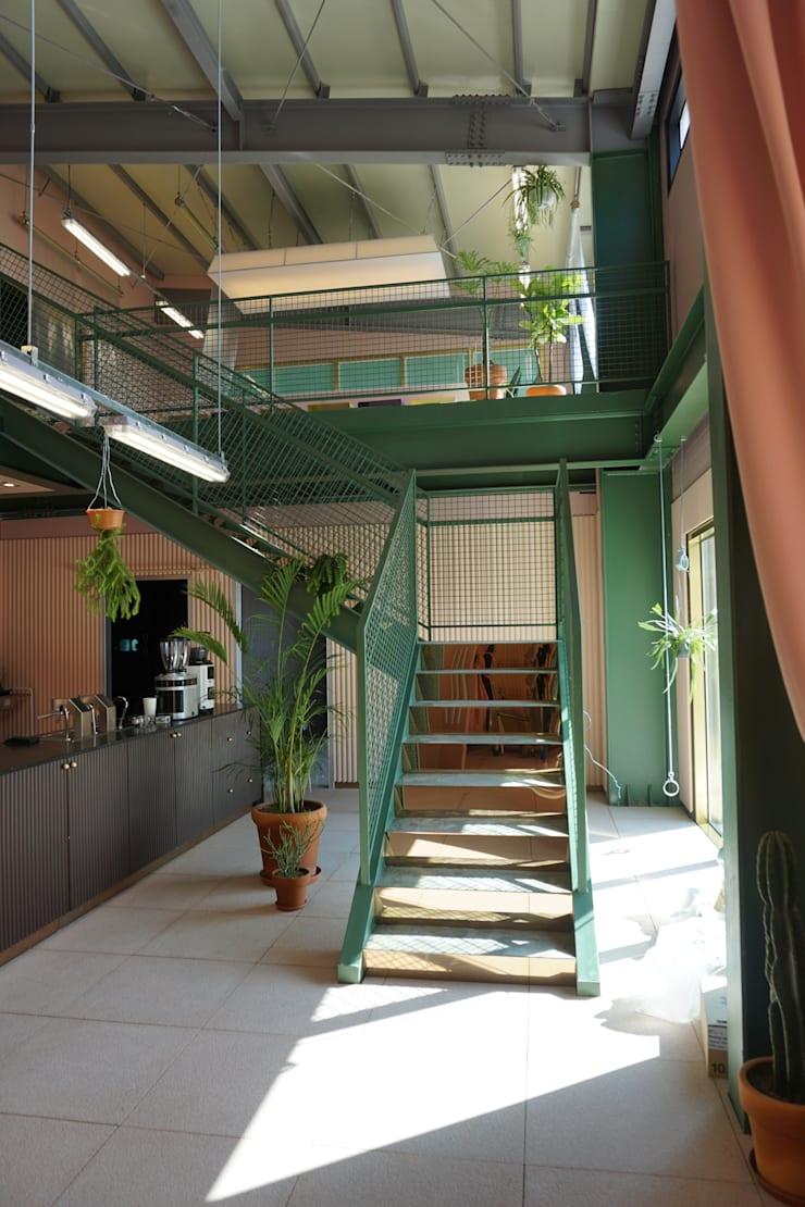 PLANTERIOR – CAFE 2: 보테니크의  상업 공간