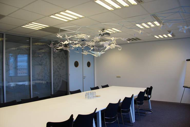 Seats2Meet 's-Hertogenbosch:  Congrescentra door INinterieurs, Modern Glas