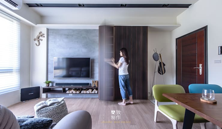 CHOU'S RESIDENCE:   by 簡致制作SimpleUtmost Design