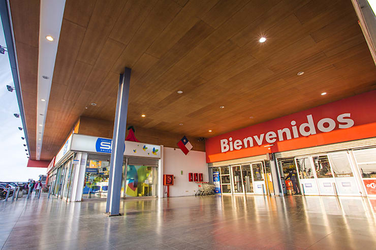 Industrial style shopping centres by surarquitectura Industrial