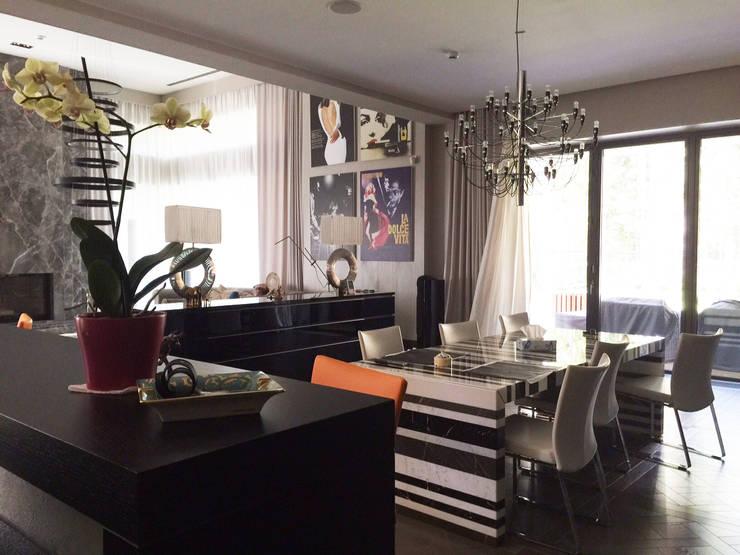 minimalistic Living room by Olga Stupenko Design