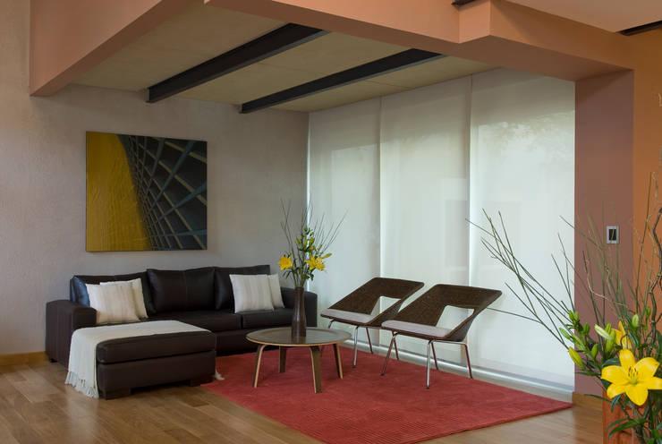 CASA EN PALERMO: Livings de estilo  por Arquitecta MORIELLO,