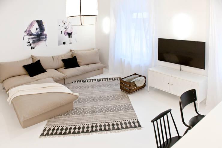 غرفة المعيشة تنفيذ freudenspiel - Interior Design