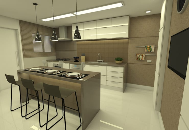 Charmoso apartamento nos Jardins von Noemi Lima Design | homify