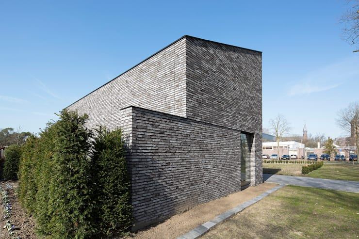 Dormitorios minimalistas de Joris Verhoeven Architectuur Minimalista
