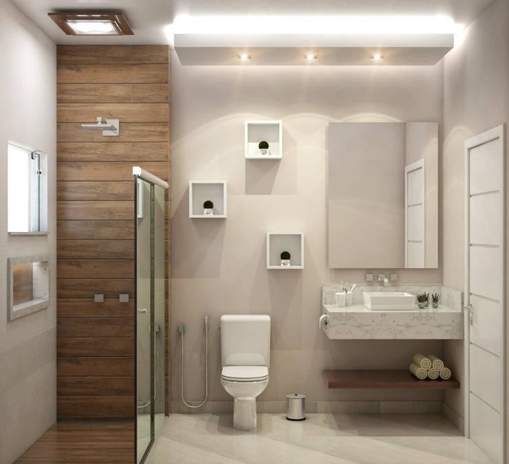 Banheiro: Banheiro  por WGR Engenharia