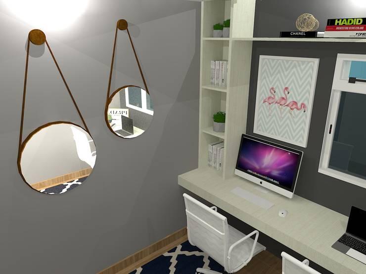 Study/office by Studio Beatriz Neves