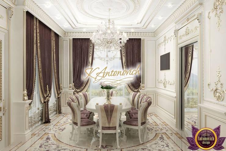 Dining room by Luxury Antonovich Design