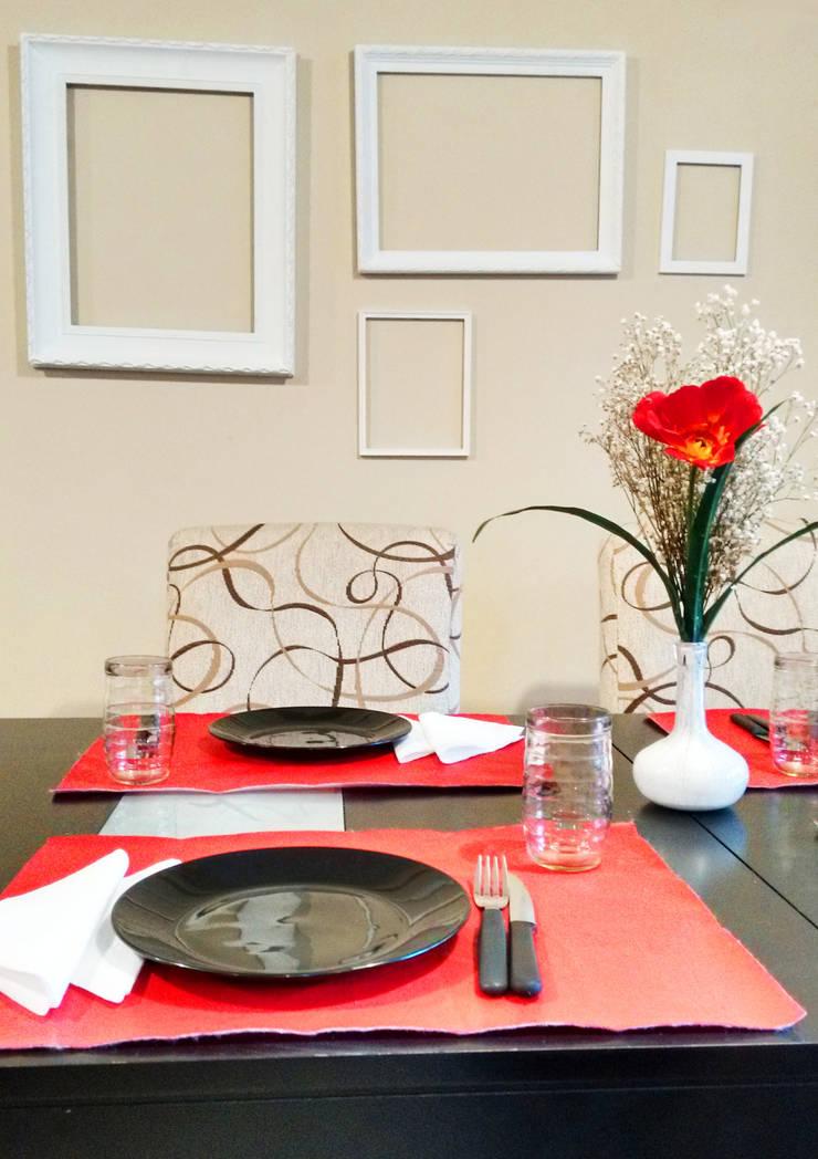 Remodelación Departamento y Decoración de Interiores: Comedores de estilo  por LOSADA ARQUITECTURA,