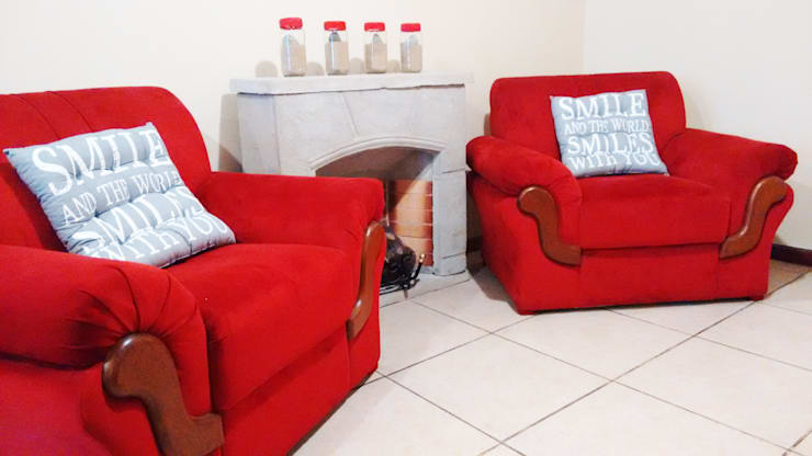 decoracion: Livings de estilo  por LOSADA ARQUITECTURA,