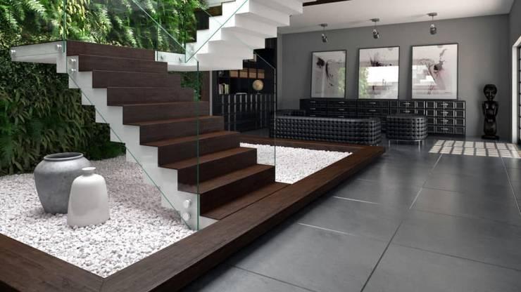 Paisajismo de interiores de estilo  por ►  8|H A U S  -  A R Q U I T E T U R A  ◄